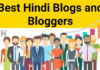 Best Hindi Blogs and bloggers