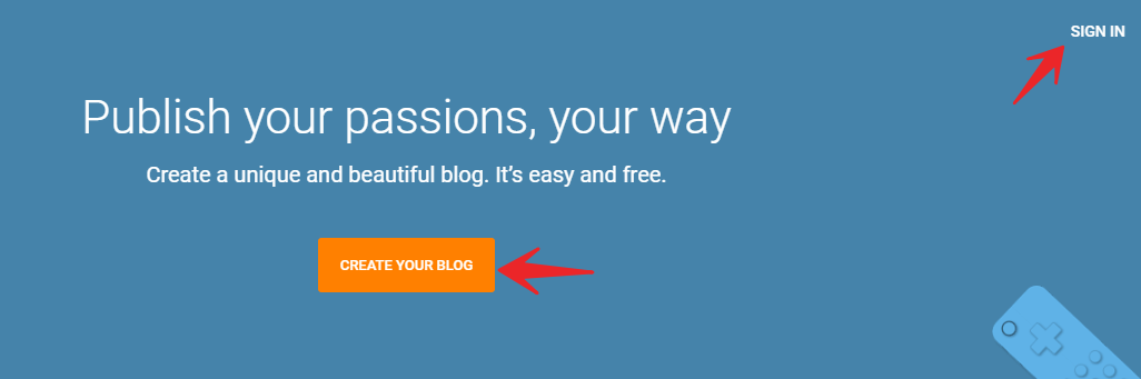 Free Blog - Sign in to your blogger dashboard